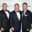 Bill Belichick, Brian Kelly and Jon Bon Jovi attend the 5th Annual Irish Eyes Gala at JW Marriott Essex House on March 16, 2015 in New York City.