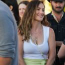 Minka Kelly at Harry Styles Concert in Inglewood - 454 x 681