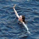 Emma Stone – Photoshoot for Louis Vuitton in Capri - 454 x 324