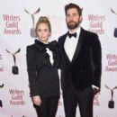 Emily Blunt and John Krasinski :  71st Annual Writers Guild Awards - New York Ceremony - 391 x 600