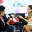 Ariana Grande attends Y100Â's Jingle Ball 2013 Presented by Jam Audio Collection at BB&T Center on December 20, 2013 in Miami, Florida