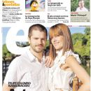 Felipe Colombo, Isabel Macedo - Clarin Magazine Cover [Argentina] (5 January 2012)