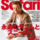 Simon Baker - Safari Magazine Cover [Japan] (February 2017)