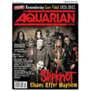 Corey Taylor, James Root, Shawn Crahan, Sid Wilson, Joey Jordison, Paul Gray, Mick Thomson - The Aquarian Weekly Magazine Cover [United States] (8 August 2012)