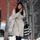 Famke Janssen - out and about in New York - 24/01/11