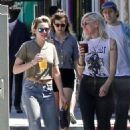 Kristen Stewart with a few friends out in Los Angeles