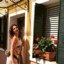 Luciana Gimenez in Murano, Italy - Summer/2015