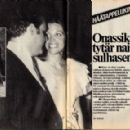 Christina Onassis and Alexandre Adreadis - Seura Magazine Pictorial [Finland] (1 August 1975)