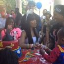 Blac Chyna and Tyga Celebrating King Cairo's 1st Birthday at Their Calabasas Mansion - October 12, 2013 - 454 x 454