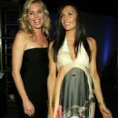 Famke Janssen - With Rebecca Romijn, MTV Movie Awards 3 Jun 2006