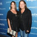 Janie and Eddie Van Halen attend the Esquire 80th Anniversary on September 17, 2013 in New York City - 383 x 594