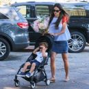 'Furious 7' actress Jordana Brewster went to the farmer's market with her family in Los Angeles, California on August 21, 2016 - 454 x 372