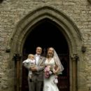David Hewlett and Jane Loughman Wedding Photos - 395 x 594