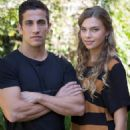 Firass Dirani and Indiana Evans