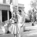 Anthony Perkins and Jane Fonda