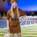 Sabrina Carpenter – Versace Fashion Show in Milan
