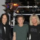 Def Leppard Kick Off 'Viva Hysteria' Residency With Memorabilia Display Dedication at the Hard Rock Hotel and Casin in Las Vegas - 454 x 212