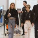 Kristen Stewart and Stella Maxwell – Arrives at Airport in Toronto