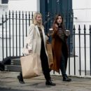 Jenna Louise Coleman and Dianna Agron – Shopping in London - 454 x 519