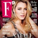 Blake Lively – F Magazine (December 2017) - 454 x 575