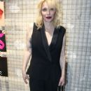 Courtney Love at Yves Saint Laurent night in Paris