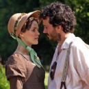 Keri Russell and Bret McKenzie