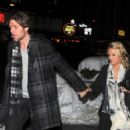Carrie Underwood & Mike Fisher's Knicks/Heat Date Night - 454 x 726