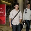 Nick Jonas at Los Angeles Airport (April 14)