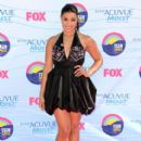 Jordin Sparks arrives at the 2012 Teen Choice Awards at Gibson Amphitheatre on July 22, 2012 in Universal City, California