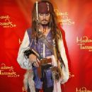Johnny Depp's Jack Sparrow Wax Figure Unveiled