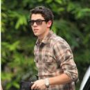 Nick Jonas was spotted arriving at the W Hotel on Thursday, October 27. He was at the famed hotel in Los Angeles for a meeting
