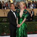 Keith Urban and Nicole Kidman : 23rd Annual Screen Actors Guild Awards - 405 x 600