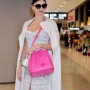 Miranda Kerr Arriving At Narita International Airport In Tokyo