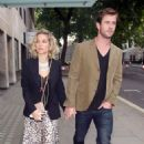 Elsa Pataky and Chris Hemsworth Out In London