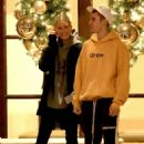 Hailey Baldwin and Justin Bieber – Outside the Montage Hotel in Beverly Hills
