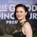 Anna Paquin in The World Premiere of Disney-Pixar's 'The Good Dinosaur' at El Capitan Theatre - 454 x 303