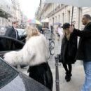 Mary Kate and Ashley Olsen on the Champs-Elysees