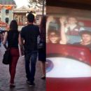 Lily Collins and Zac Efron Spotted at Disneyland (October 22, 2013)