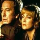 Natasha Richardson and Alan Rickman