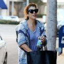 Kate Walsh Street Style Out In Beverly Hills