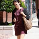 Rhona Mitra - Walking In Beverly Hills - May 13, 2010