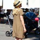 Jessica Collins at the Farmer's Market in Studio City - 454 x 685
