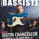 Justin Chancellor - Bassiste Magazine Cover [France] (December 2019)