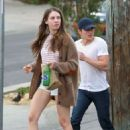 Alison Brie Out In La