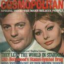 Sophia Loren, Marcello Mastroianni - Cosmopolitan Magazine Cover [United States] (November 1963)
