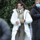Michelle Keegan – on the set of 'Brassic' in Lancashire - 454 x 720