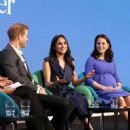 Prince Harry, Meghan Markle, Catherine, Duchess of Cambridge and Prince William, Duke of Cambridge attend the first annual Royal Foundation Forum - 454 x 573