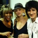 Ron Wood and Jo Wood - 454 x 263