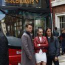Sofia Carson – Descendants 2 promotion Aboard a London Bus - 454 x 656