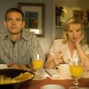 Bryce Johnson and Melinda Page Hamilton stars in Sleeping Dogs Lie directed by Bob Goldthwait. - 454 x 303